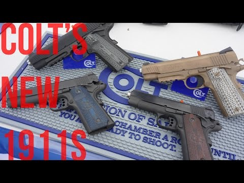SHOT Show 2016: Colt's Four 'New' 1911 Pistols