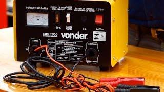 Vonder - Carregadores de Bateria CBV1500 e CBV0900