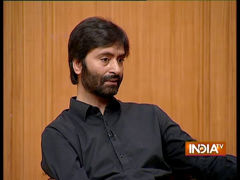 Yasin Malik Talks On His Friendship With Terrorist Hafiz Saeed - India TV