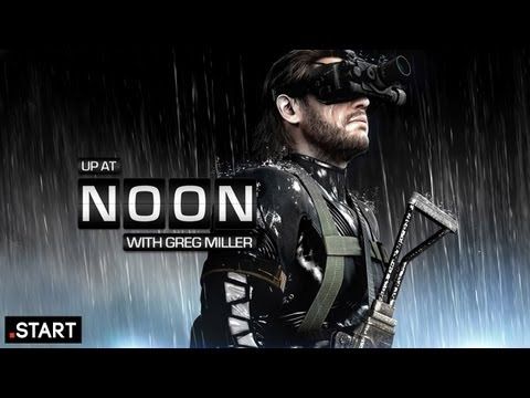 Up At Noon - Metal Gear Solid V: Snake Loses His Voice