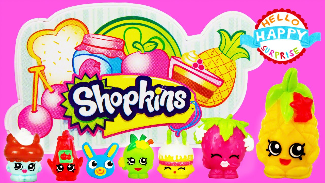 Shopkins Supermarket Playset Toy Unboxing Small Mart