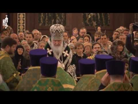 Ко дню Святой Пасхи Патриарх вручил награды священнослужителям