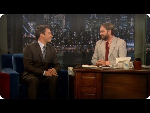Jimmy Fallon: Zach Galifianakis - Late Night with Jimmy Fallon