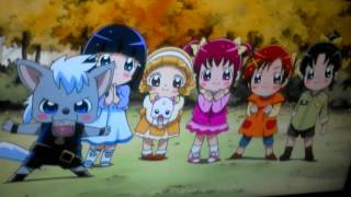 Ulrich and Brute play with the Baby Glitter Force.