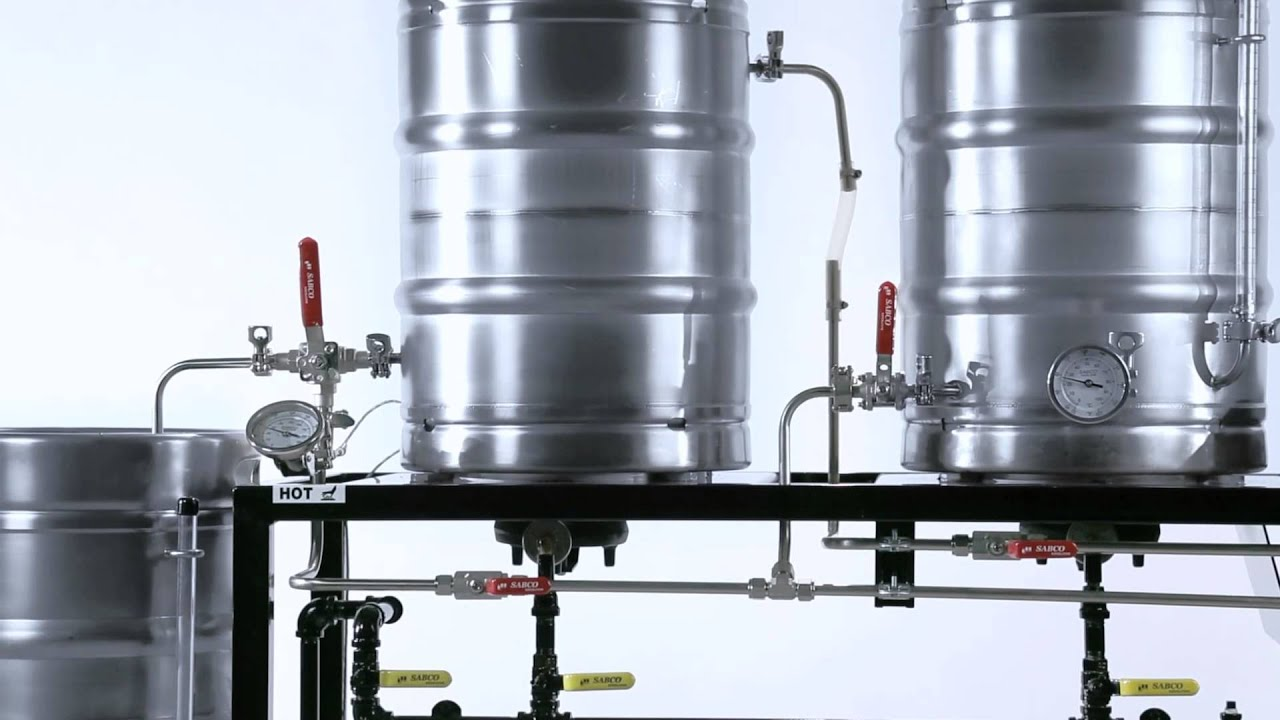 Brew Magic Brewing System By Sabco Youtube
