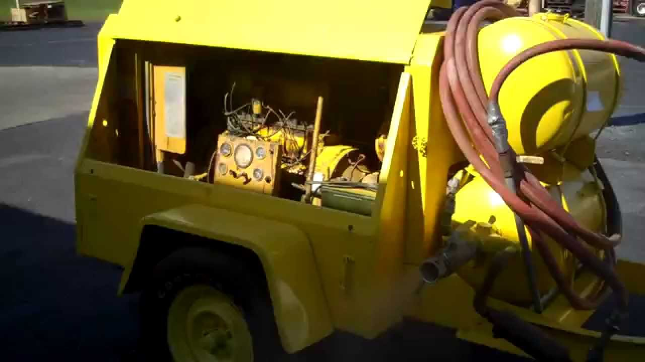 Ingersoll Rand Air Compressor Tag 25126 Youtube