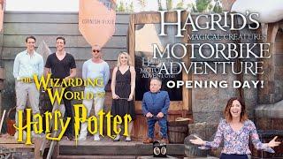 Hagrid's Magical Creatures Motorbike Adventure   Grand Opening Ceremony, Queue Walkthrough, Review!