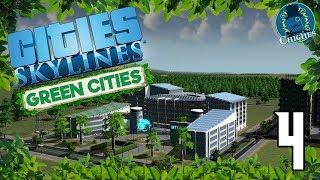 Cities Skylines: Green Cities #4 El Coche Eléctrico y el MTI | en español