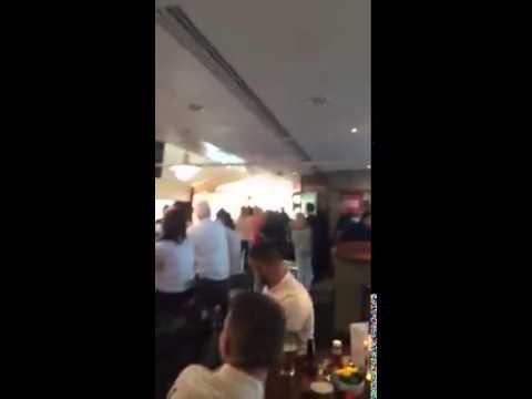 Southampton fans heckling Adam Lallana at Southampton Airport