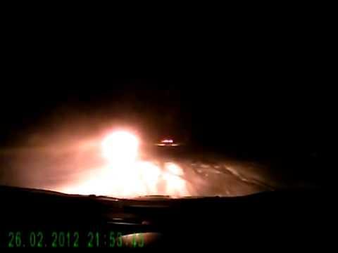 Опытный водитель избежал аварии