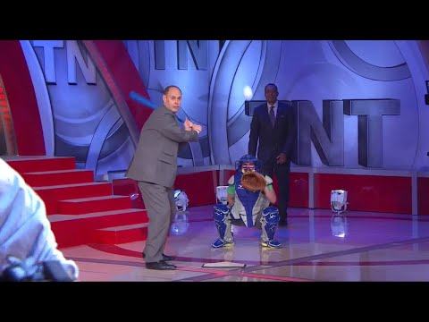 [Ep. 27] Inside The NBA (on TNT) Full Episode – T-Mac Pitches to EJ/Paul George Interview - 4-9-15