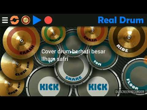 """download lagu Cover drum """"berhati besar"""" gratis"""