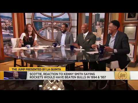 Scottie Pippen Responds To Kenny 'The Jet' Smith Telling Scoop B Radio: Rockets Would Beat Bulls