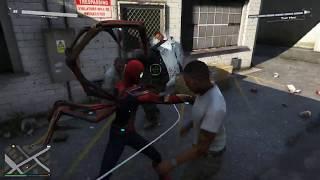 Spider man vs Venom Gta 5