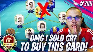 FIFA 19 OMG I SOLD RONALDO to BUY THIS INSANE TOTS CARD! MY NEW 30 MILLION TEAM FOR FUT CHAMPIONS!
