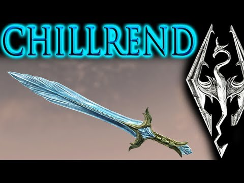 Skyrim: Unique Weapon - Chillrend (most powerful sword in main game)