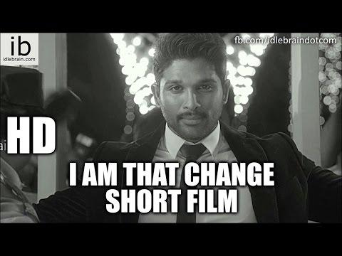 Allu Arjun's I am that Change short film