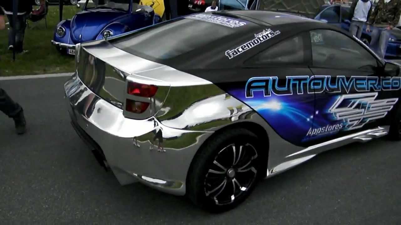 Celica Trd >> facemotors.eu Toyota Celica - Silver chrome - YouTube