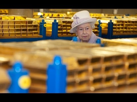 Rare Look Inside Bank Of England Gold Vaults!!