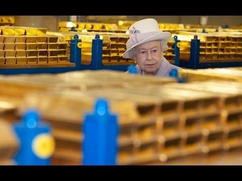 Rare Look Inside Bank Of England Gold Vaults!!