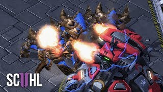 Serral's MASS ULTRALISK - Starcraft 2: Serral vs Uthermal