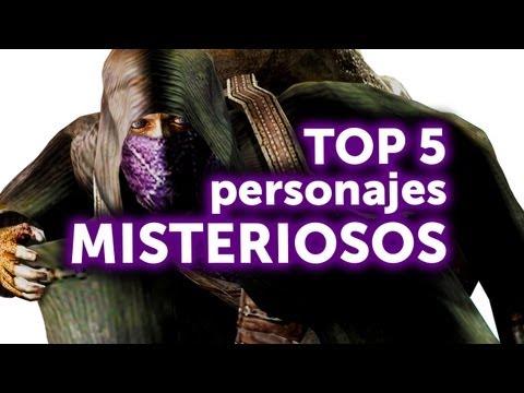 Top 5 - Personajes Misteriosos en juegos