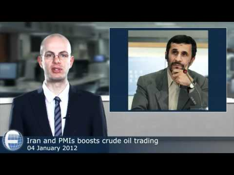 Iran and PMIs boosts crude oil trading