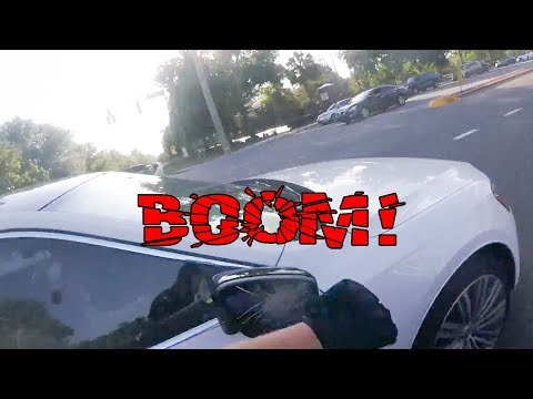 STUPID DRIVERS GOT SMASHED MIRRORS | EXTREMELY CRAZY, ANGRY PEOPLE Vs BIKERS  [Ep. #98]