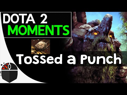 Dota 2 Moments - Tossed a Punch