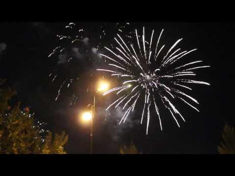 Салют в День города, Екатеринбург 20 августа 2016