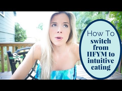 Switching from Macro Counting to Intuitive Eating?!