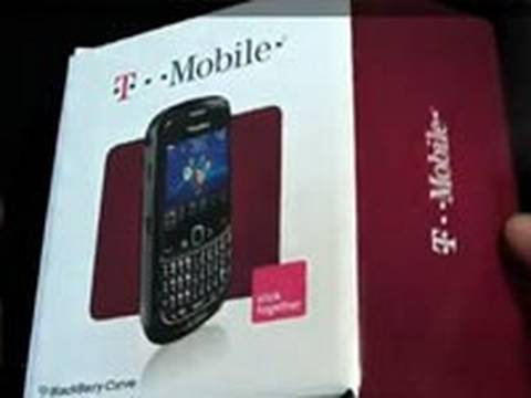 BlackBerry Curve 8520 (T-Mobile) - Unboxing