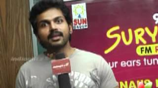 Saguni - Karthi On his Saguni Journey & Film Songs