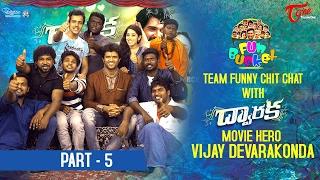 Fun Bucket Team Funny Skit with Dwaraka Movie Hero Vijay Devarakonda    #05