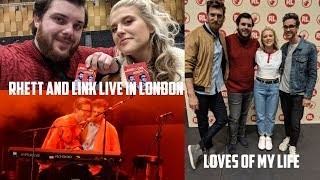 RHETT AND LINK LIVE IN LONDON VLOG