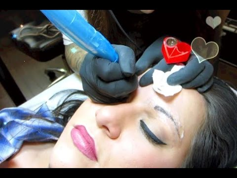Eyebrow Tattoos♡ - Permanent Makeup: My Story/Experience (Live Footage & Before/After pictures)