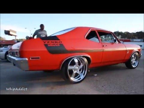 WhipAddict: 70' Chevrolet Nova SS Yenko on Bonspeed Wheels, Strong Motor, Stunt Sunday Atlanta
