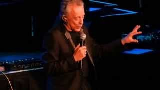 Frankie Valli introducing Bob Gaudio