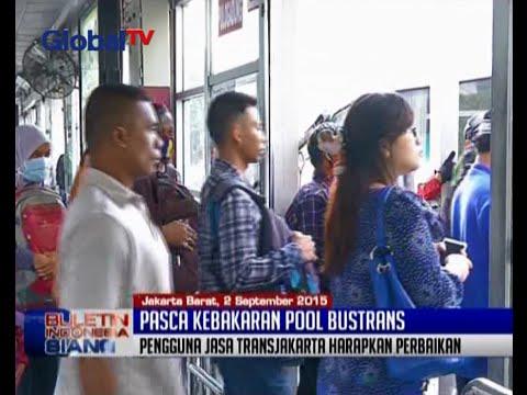 Pasca Kebakaran Pool Bus Trans Batavia, Operasional Bus Transjakarta Tetap Normal - BIS 02/09