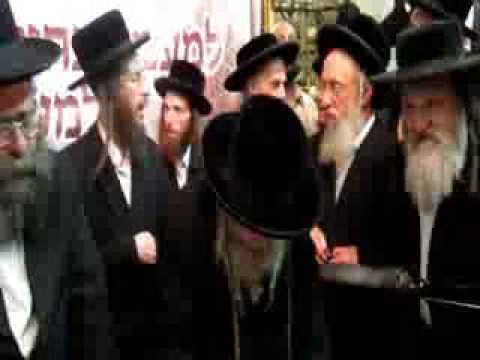 Last video of the Lelover Rebbe Zt l