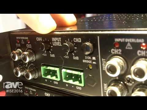 ISE 2016: Apart Audio Showcases Revamp Digital Power Amplifiers