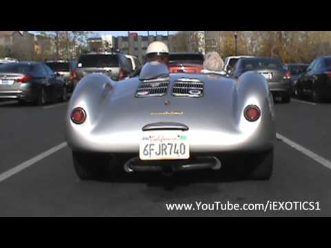 Porsche 550 Spyder Replica Startup