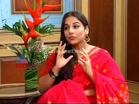 Interview with hollywood actress Vidya Balan