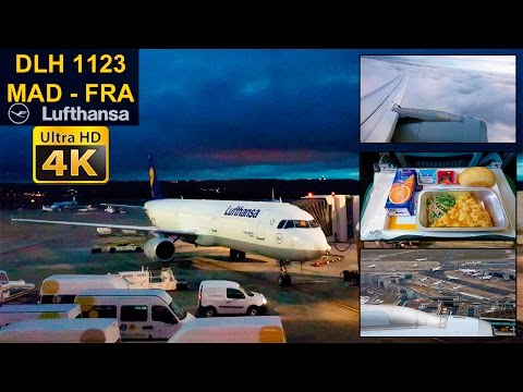 Flight Experience #21 ✈ Madrid - Frankfurt ✈ LUFTHANSA ✰Full Flight✰