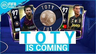 TOTY IS COMING! FIFA MOBILE 19 SEASON 3 TEAM OF THE YEAR NEWS - START DATE & WHO'S IN IT!