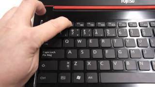 Fujitsu Lifebook Ultrabook Hands-On