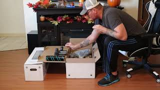 01. Video #1 of 2 Samsung Jet 75 Series and Samsung Cleaning Station unboxing and First impressions