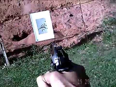 Instrução com pistola PT-100 Calibre .40