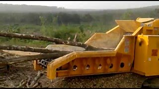 2011 CBI 484T Track Drum Chipper for sale at Forestry First