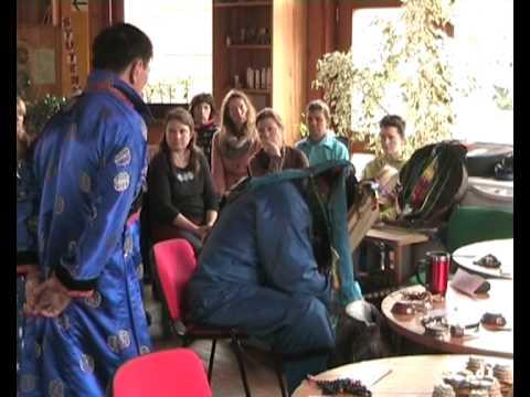 Ein sibirisch schamanisches Ritual